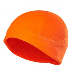Bonnet enfant en molleton Conley Orange fluo